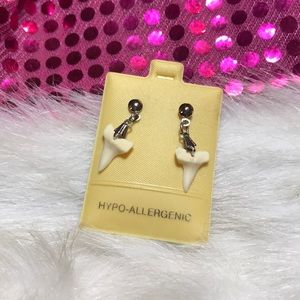 Jewelry - Shark Teeth Earrings